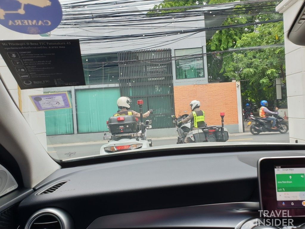 Traffic Escort in Bangkok