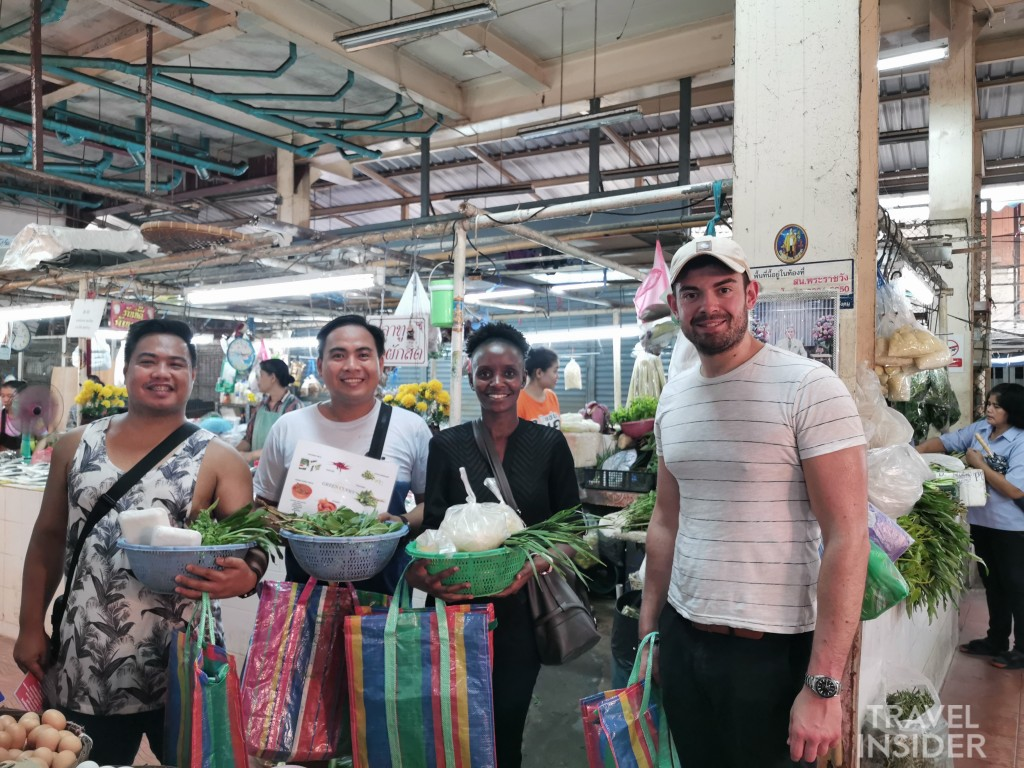 Cooking Thai food- local market tour